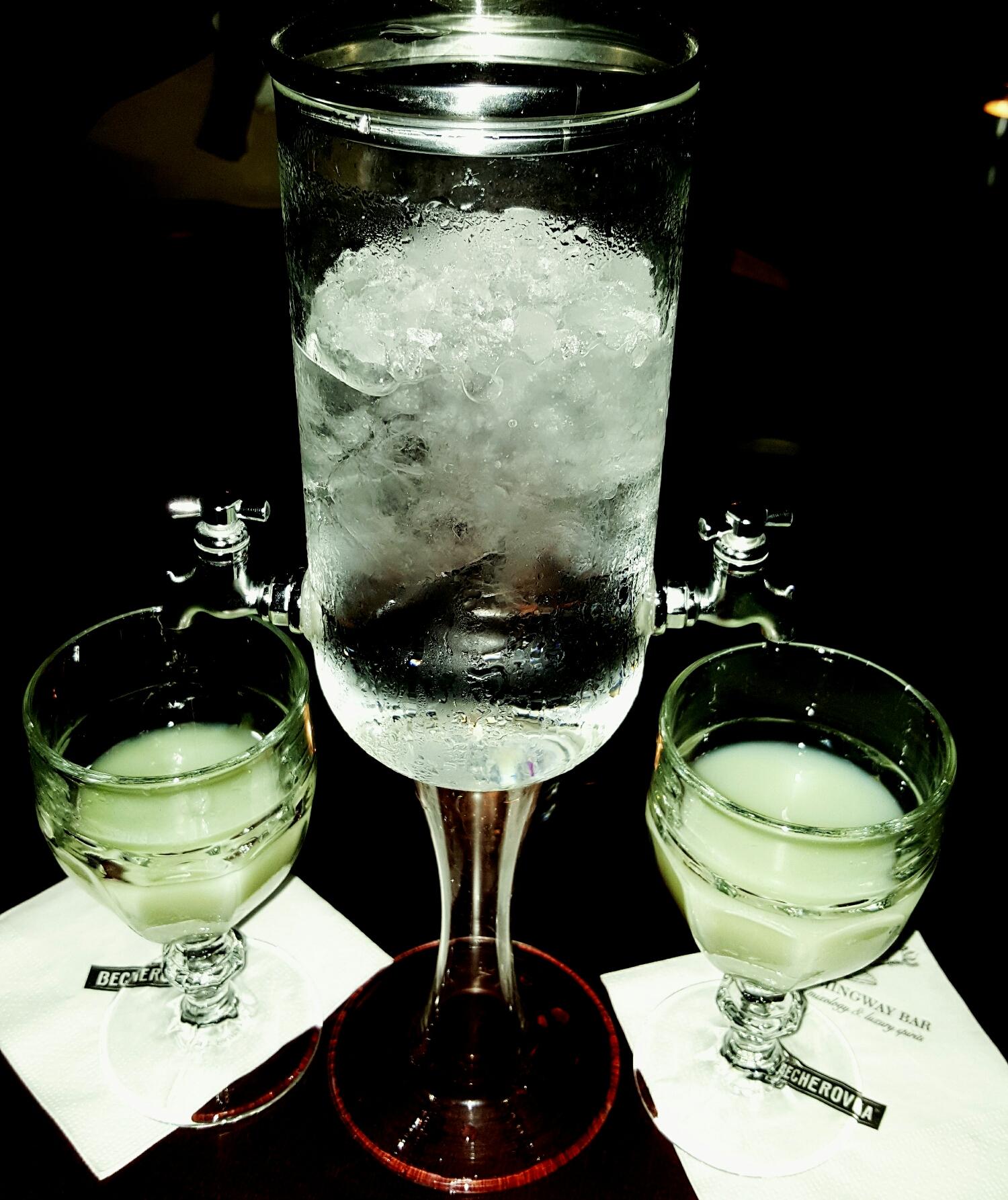 Absinthe en Hemingway Bar