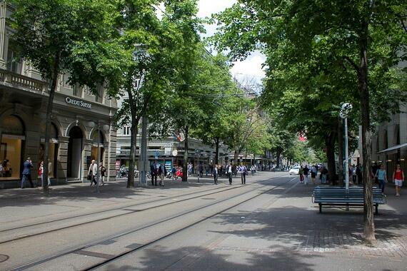 Zurich Long Street: la calle más costosa del mundo