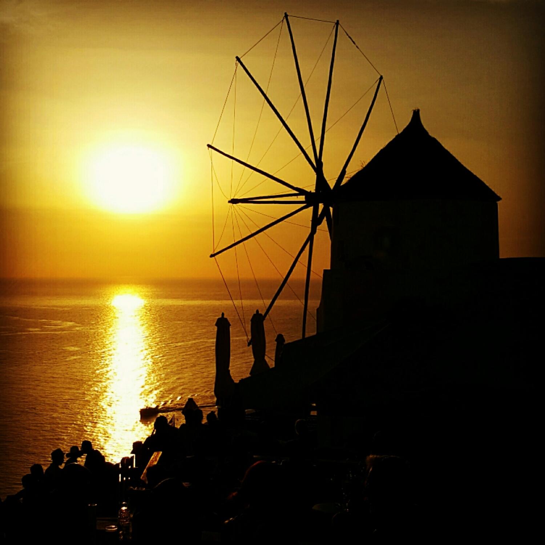Atardecer en la Oia, Santorini