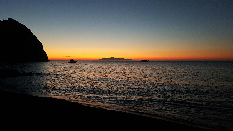 Perissa Beach, Sunrise