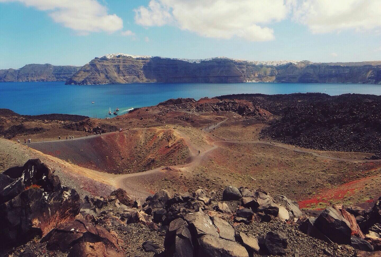 Volcán tour en Santorini