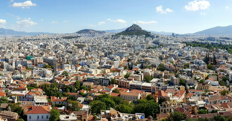 Atenas vista desde la Acrópolis