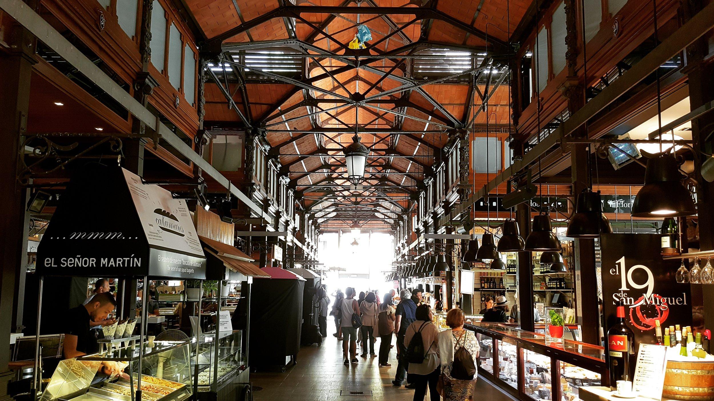 Mercado de San Miguela