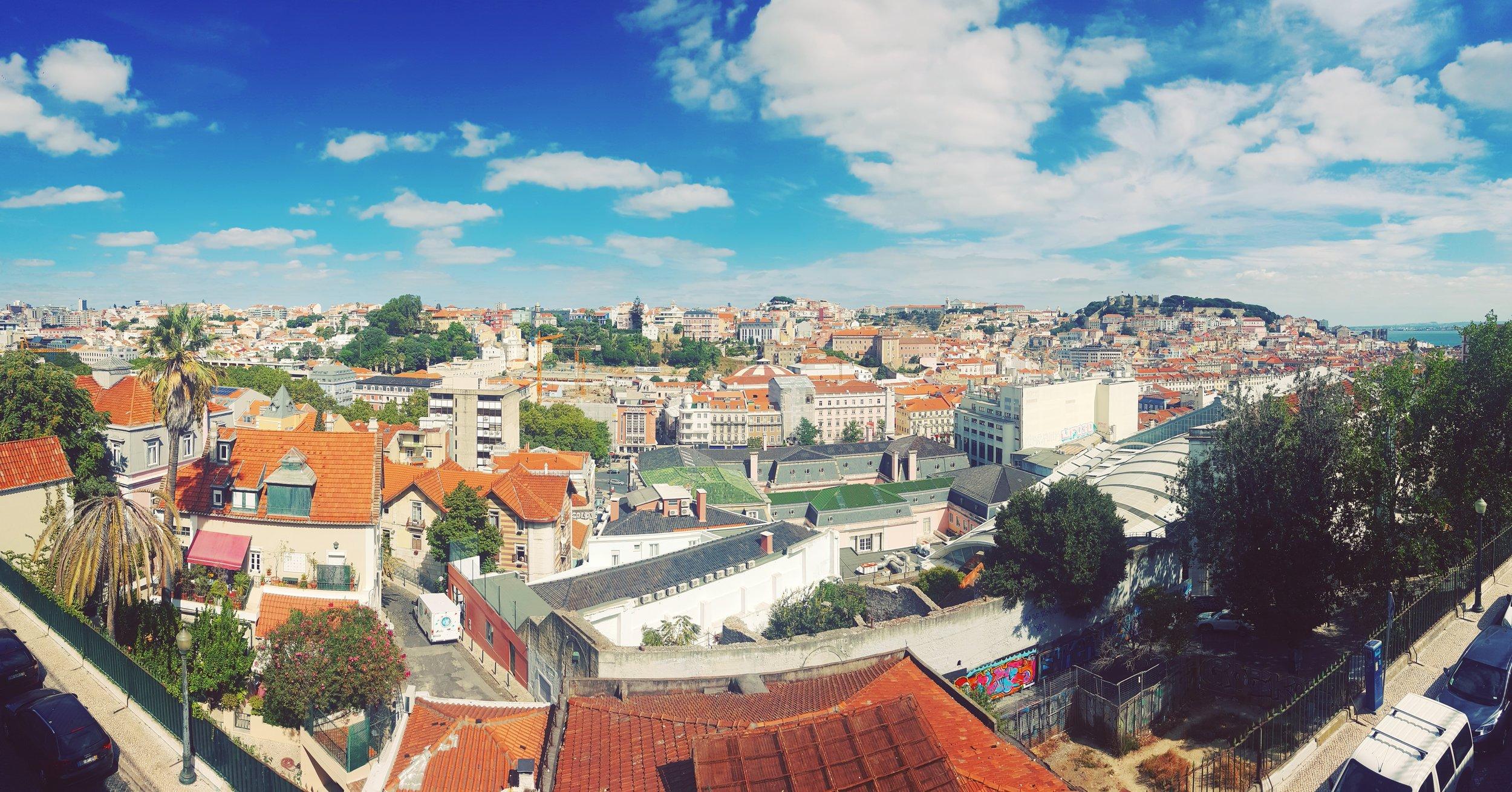 Lisboa desde Barrio Alto