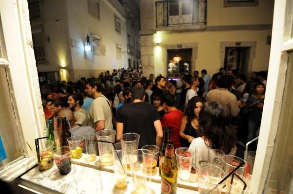 Fiesta en Barrio Alto, Lisboa