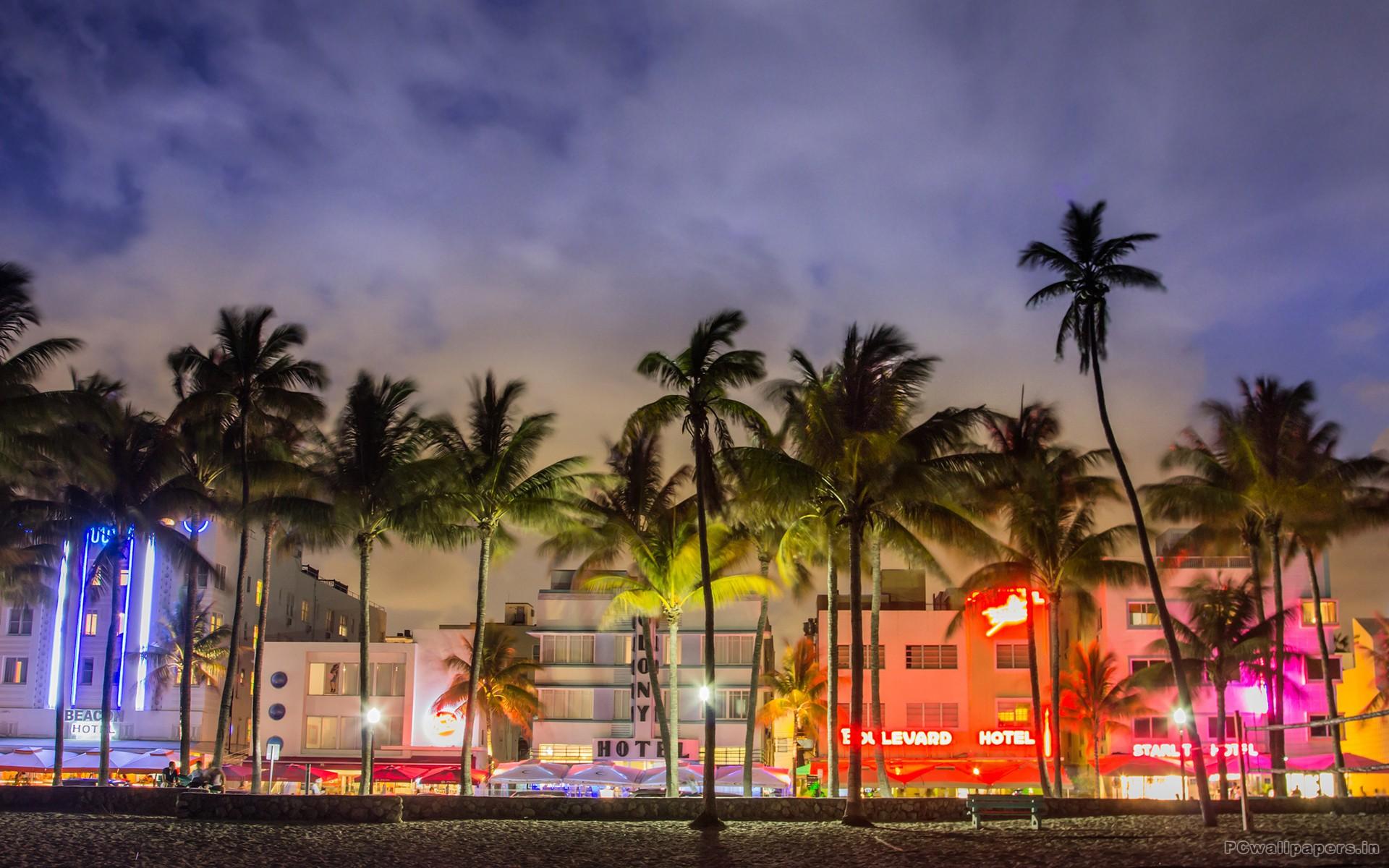 Ocean Drive en South Beach, Miami