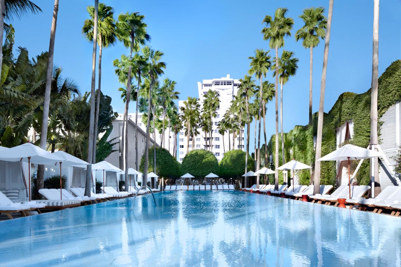 Delano Hotel at Miami Beach