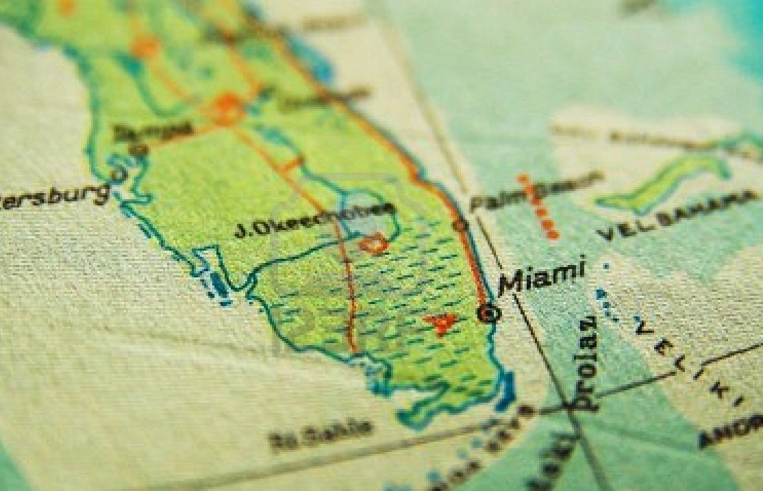 Miami in the Map