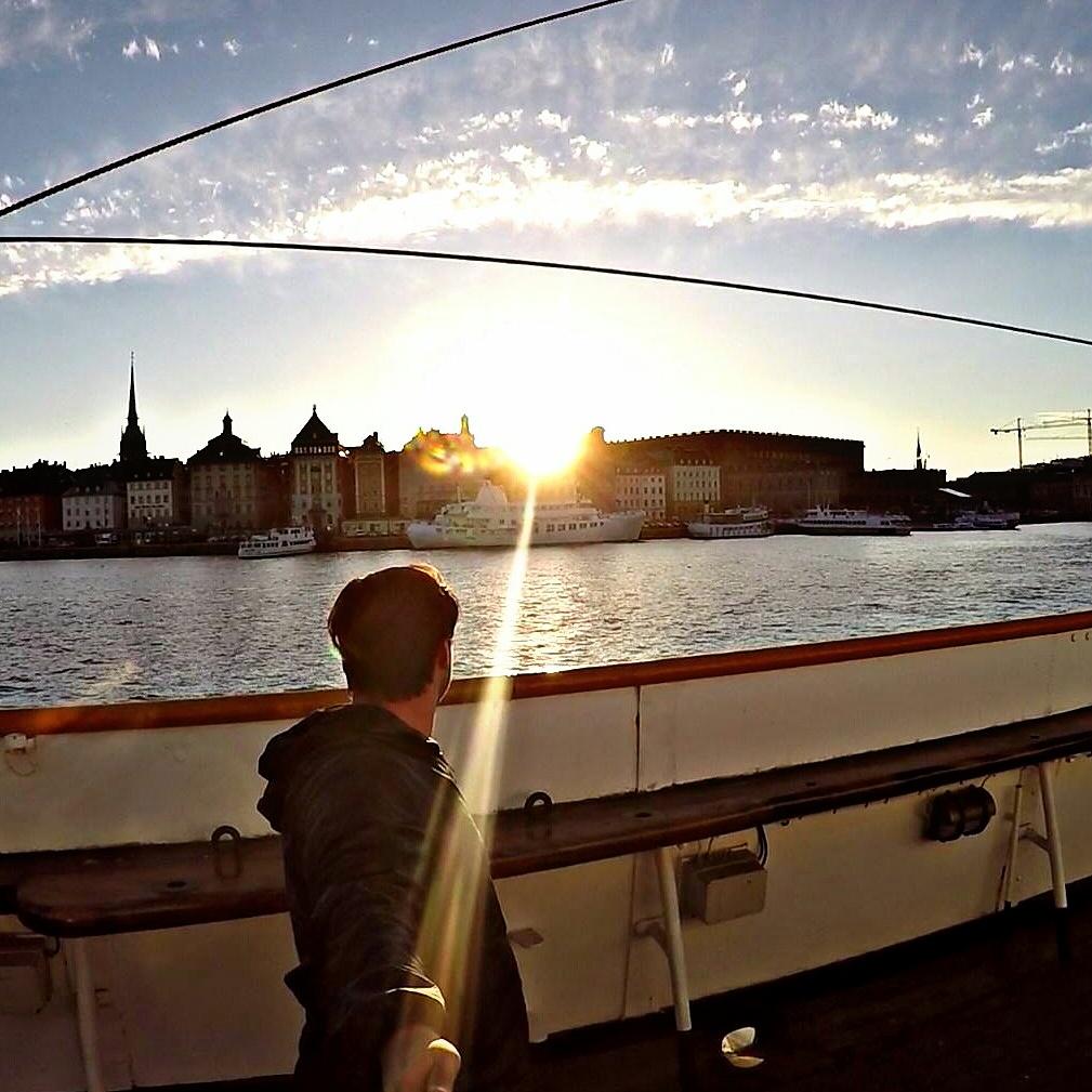 Sunset Stockholm