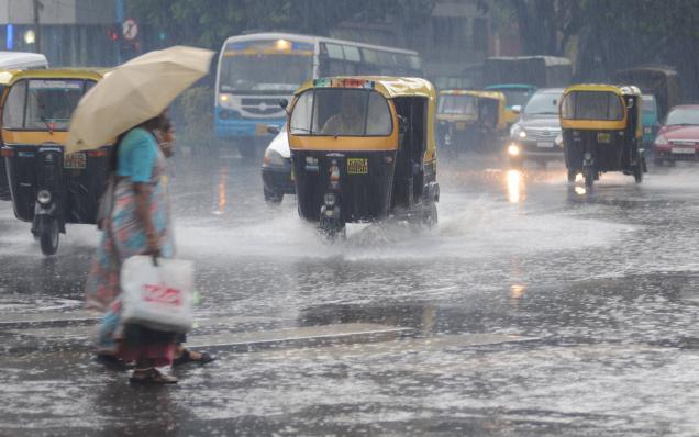 LLuvias por Monzón en Tailandia