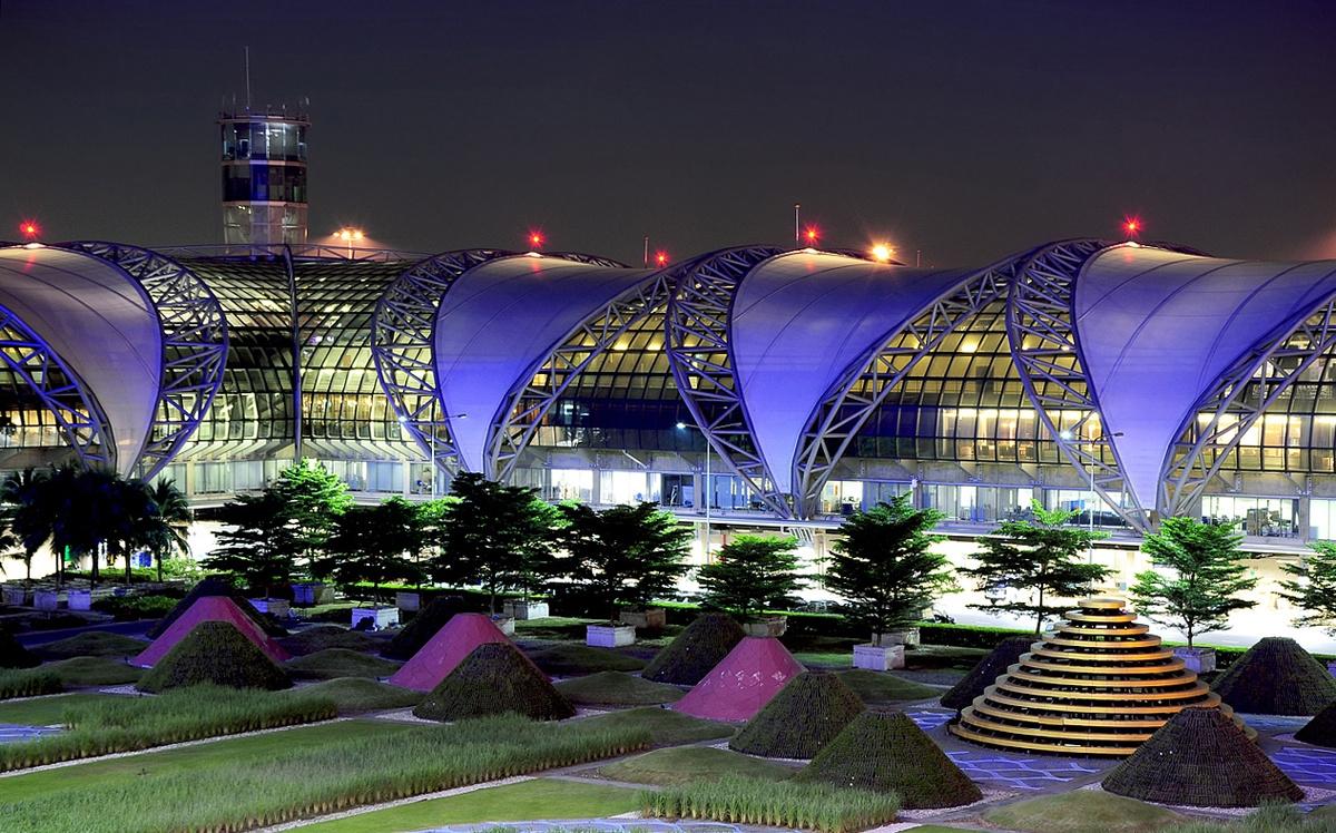 Aeropuerto Internacional Suvarnabhumi, Bangkok