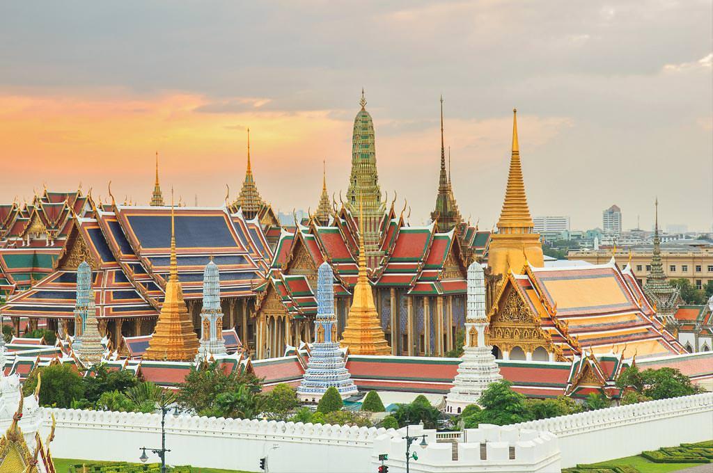 Gran Palacio de Bangkok y Templo del Buda Esmeralda