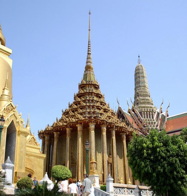 Biblioteca del Gran Palacio Real de Bangkok
