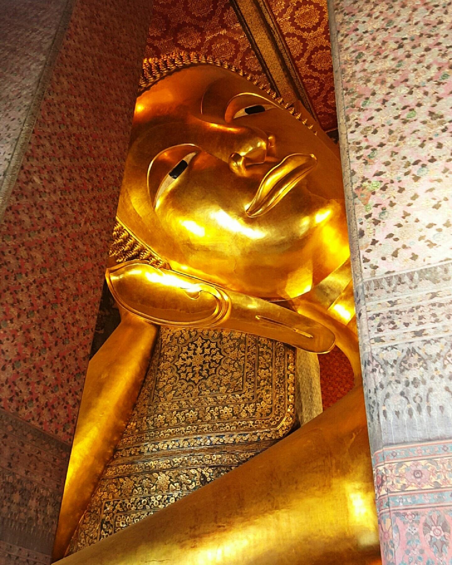 Buda Reclinado en Wat Pho, Bangkok
