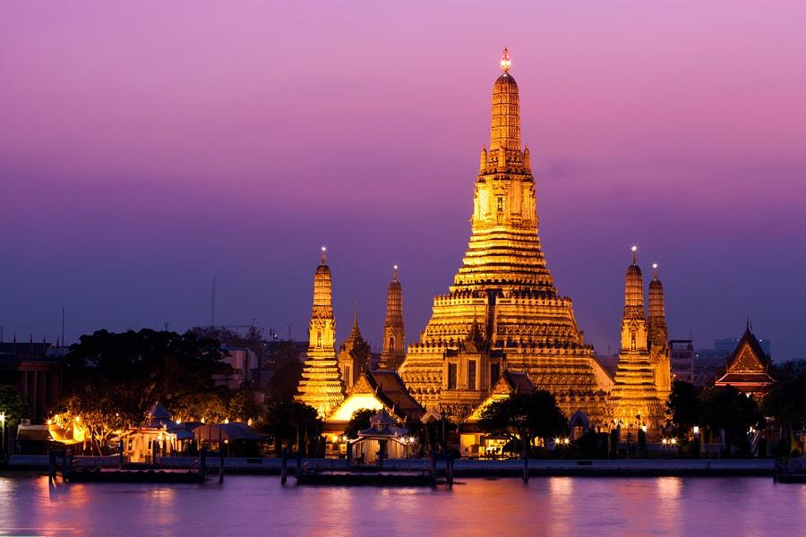 Wat Arun o Templo del Amanecer, Bankok