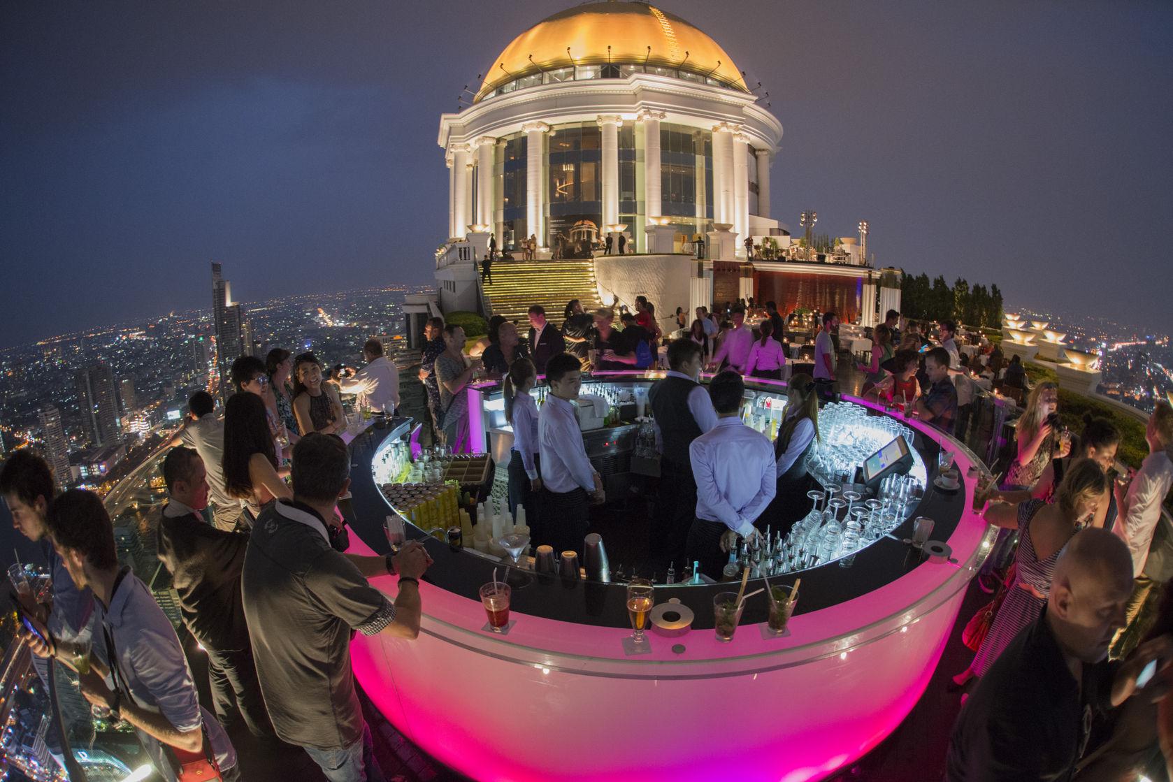 Sky Bar en el Hotel Lebua, Bangkok