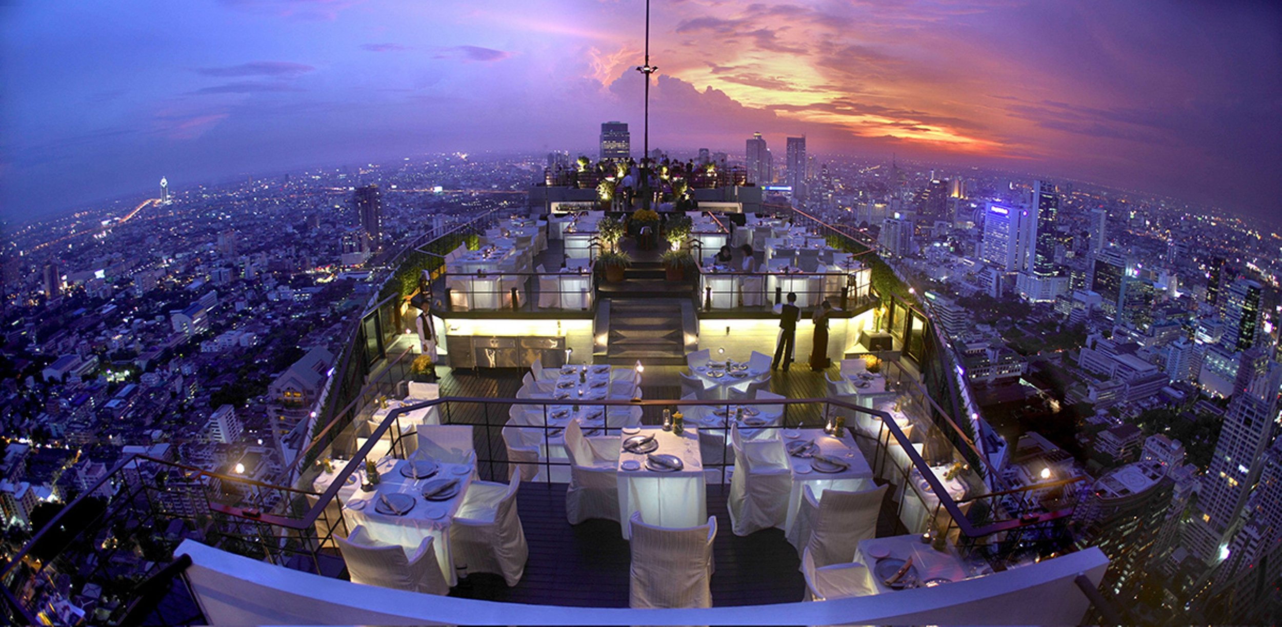 Vertigo y Moon Bar en Banyan Tree Hotel, Bangkok