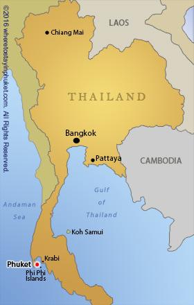 Localización Phuket