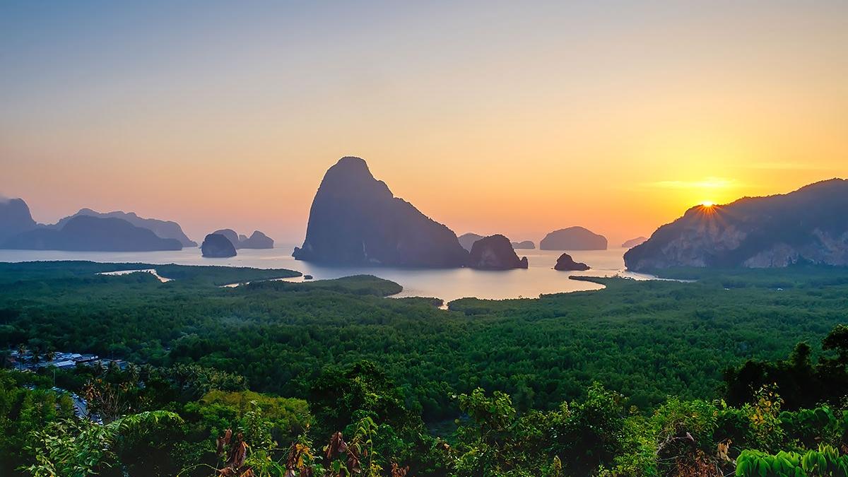 Parque nacional de Ao Phang Nga