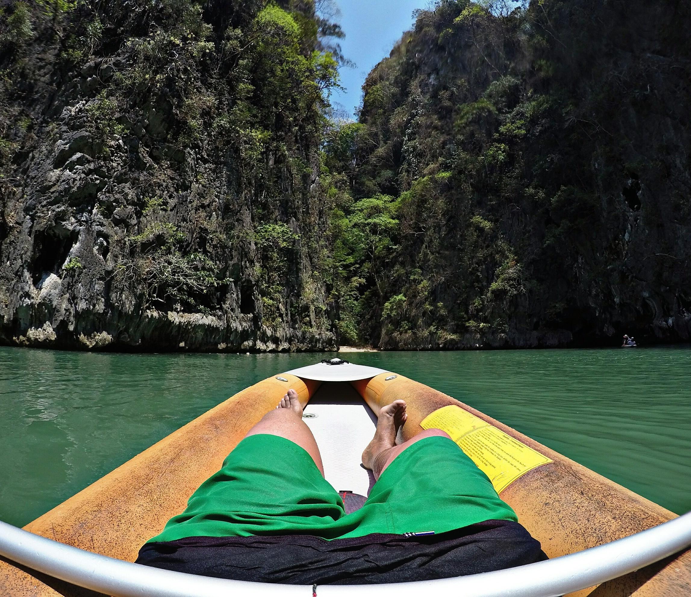 Kayaking en Parque nacional de Ao Phang Nga