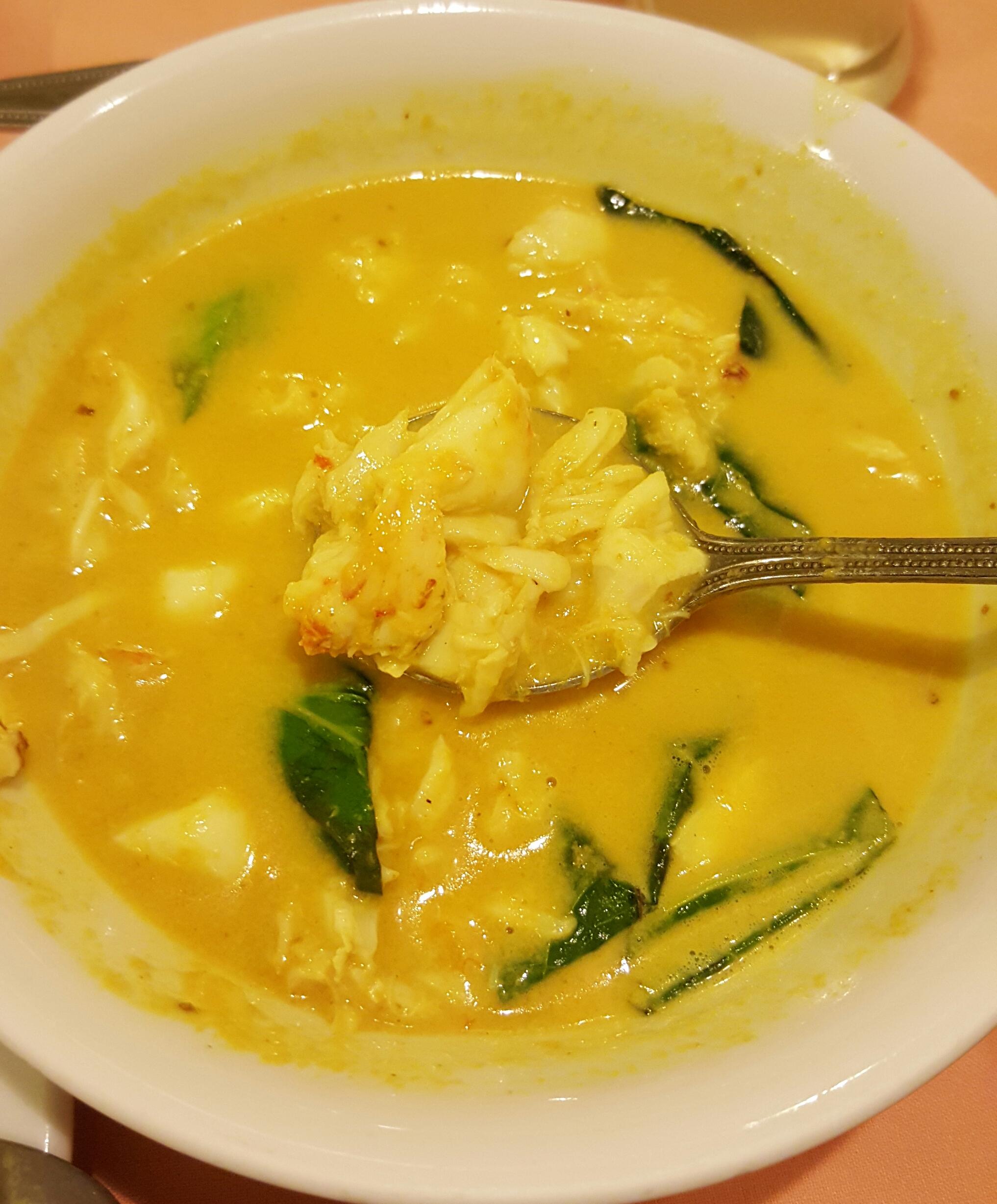Curry de Cangrejo en Raya, Old Phuket