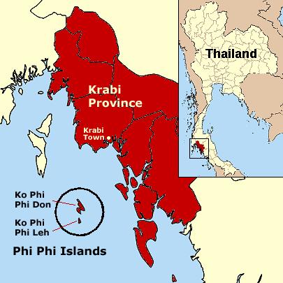 Koh Phi Phi Location