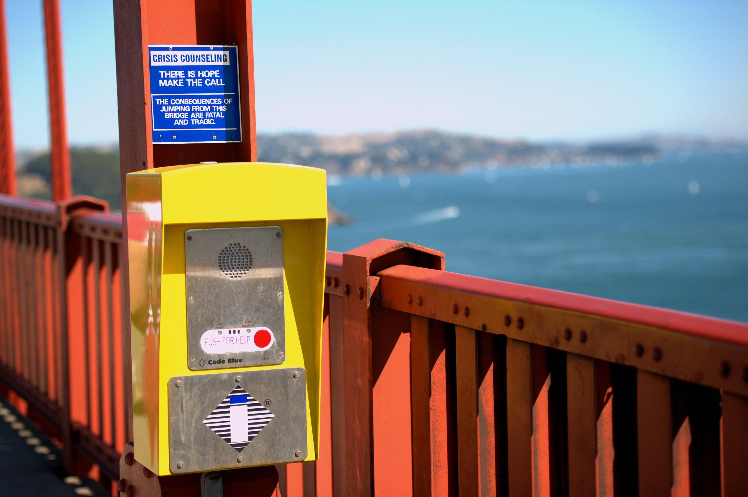 Suicide Phone Golden Gate