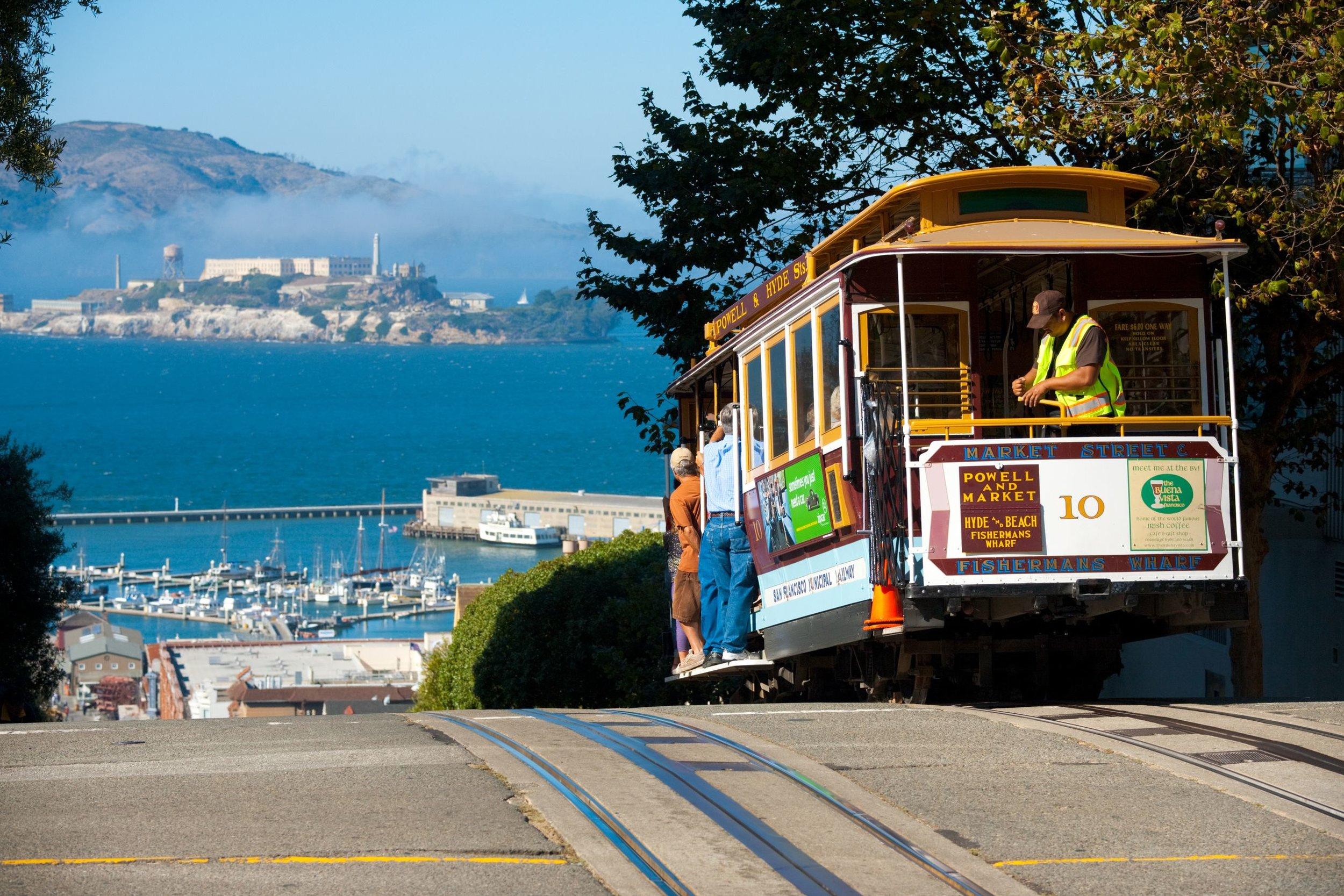 Tram en San Francisco