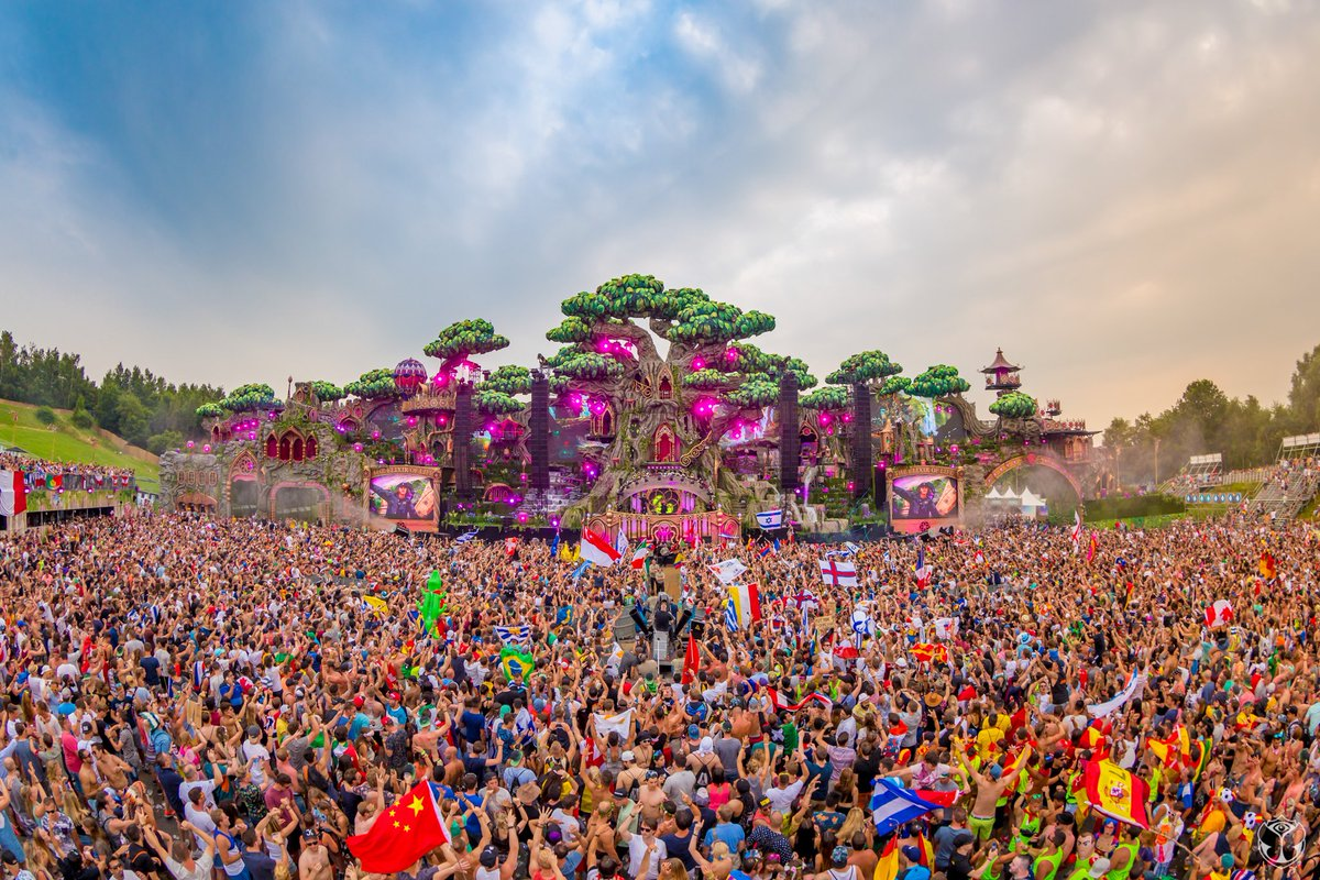 Tomorrowland, Boom - Belgium