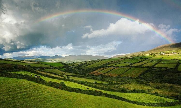 Rainbow in Ireland