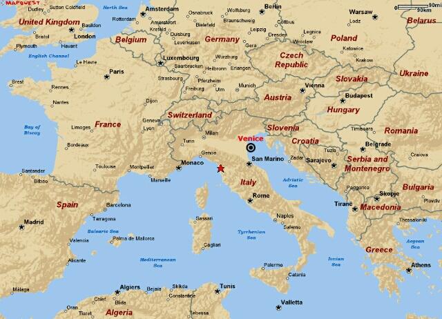 Venice Location