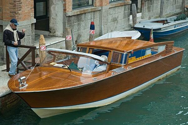 Taxi Boat, Venecia