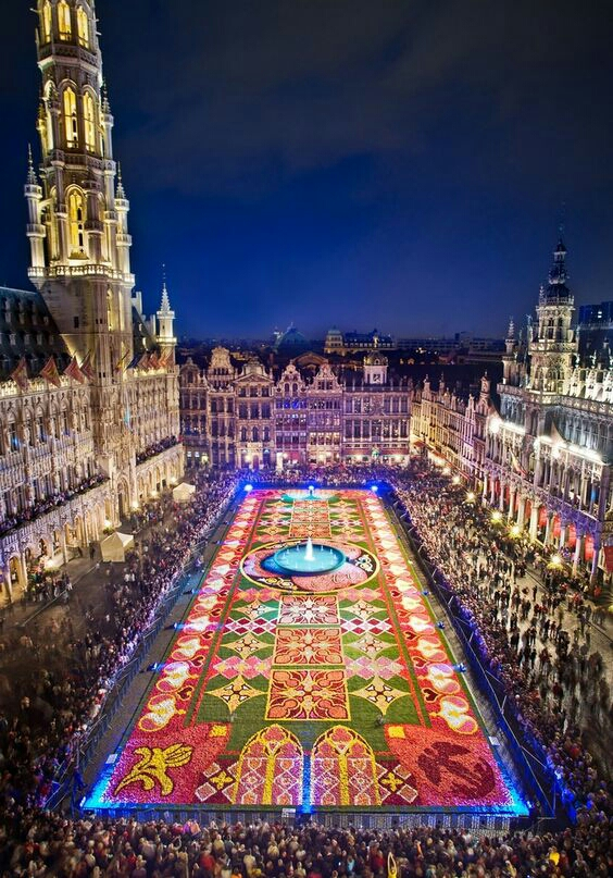 Flower Festival at Grand Place