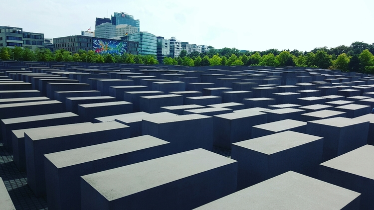 The Memorial to the Murdered Jews in Europe