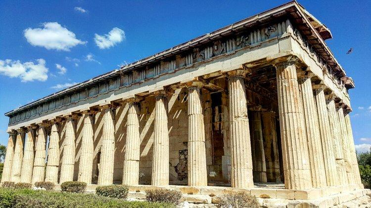 Hefestion, Athens