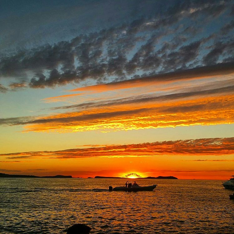 Sunset from Mambo Café, Ibiza