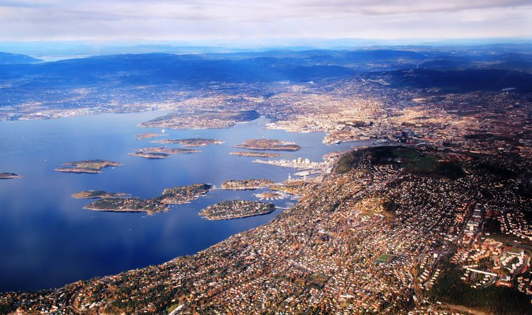 Oslo from above