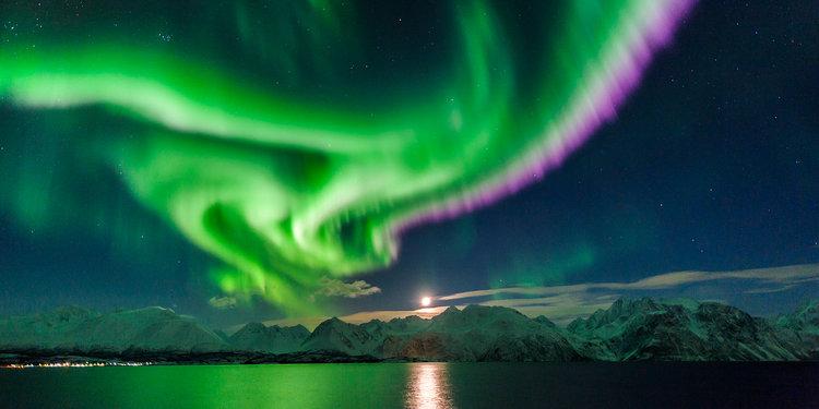 Northern Lights in Lyngenfjord