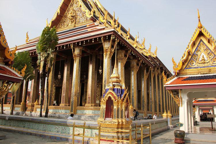 Ubosoth of the Temple of the Emerald Buddha, Bangkok