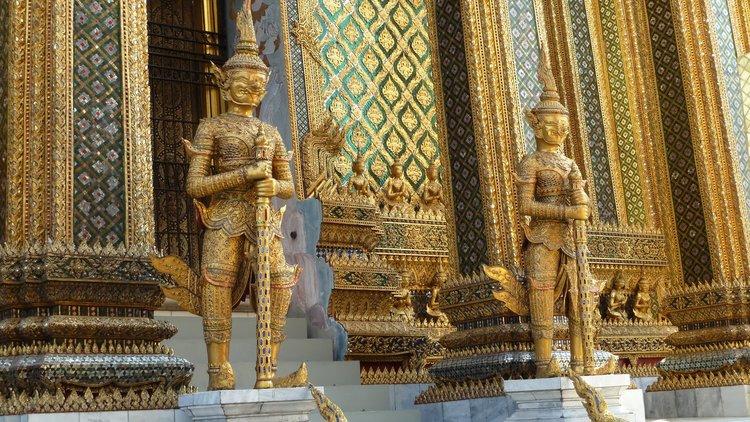 Library of the Grand Royal Palace of Bangkok
