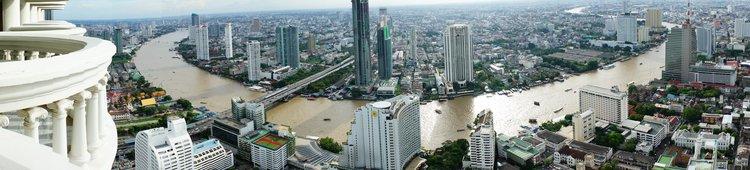 Bangkok from the Sky Bar in Hotel Lebua