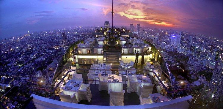 Vertigo and Moon Bar at Banyan Tree Hotel, Bangkok