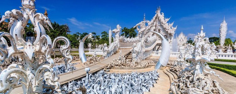 Wat Rong Khun or White Temple