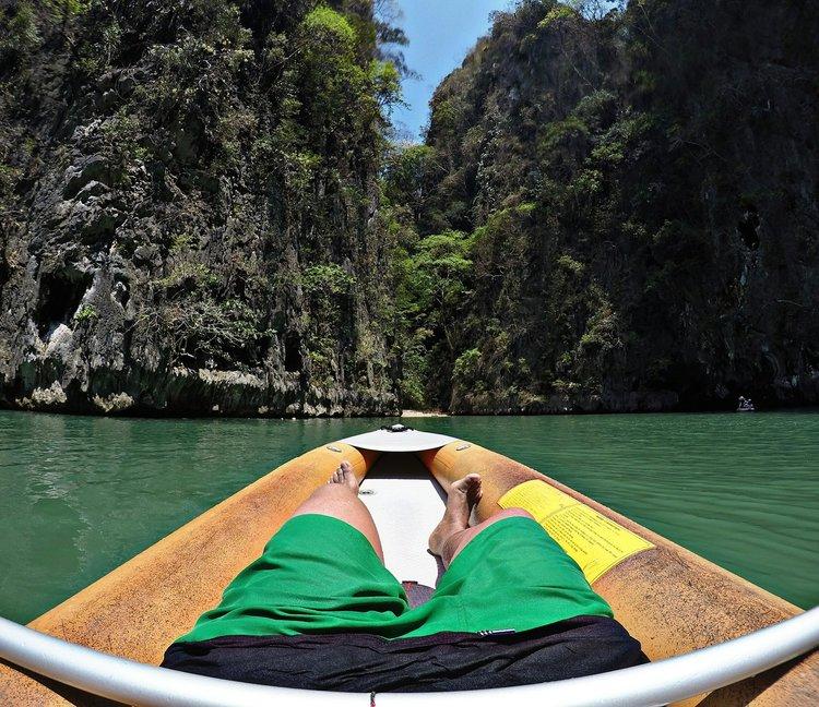 Kayaking at Ao Phang Nga Bay