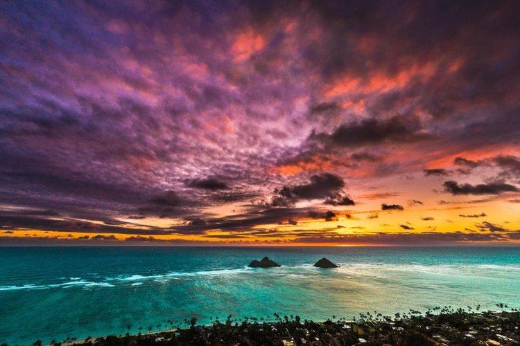 Lanikai Sunset