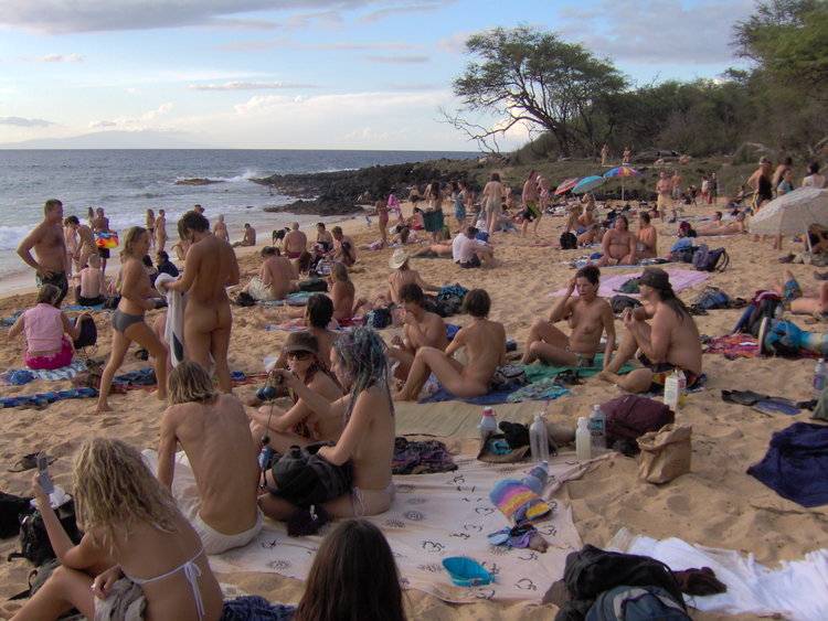 Little Beach, Maui