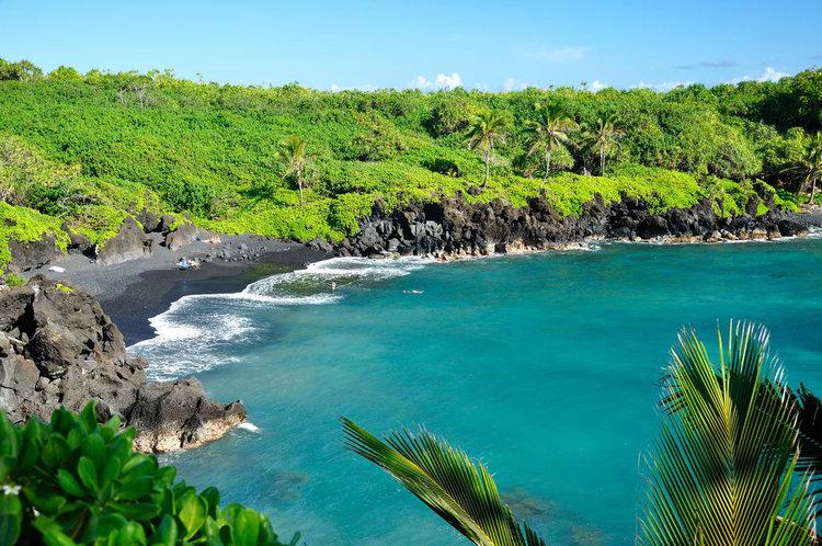 Waianapanapa Black Beach, Maui