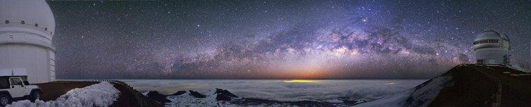 Milky Way from the Manu Kea