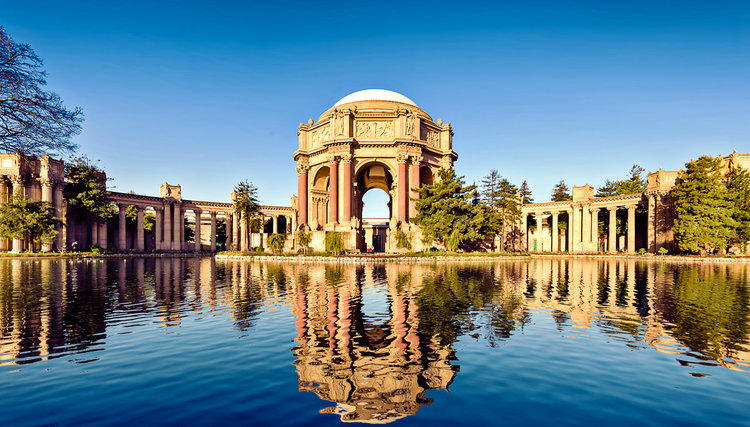 Palace of Fine Arts of San Francisco