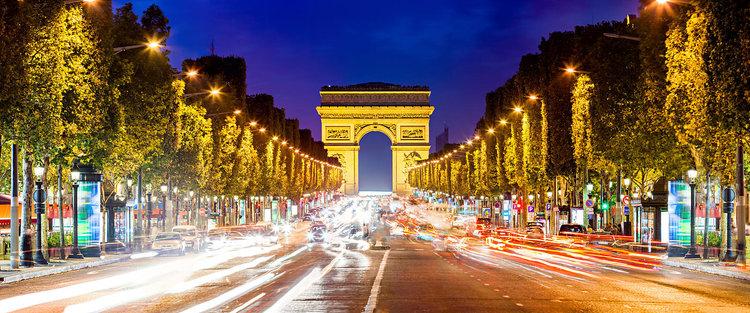 Champs-Elysees Avenue